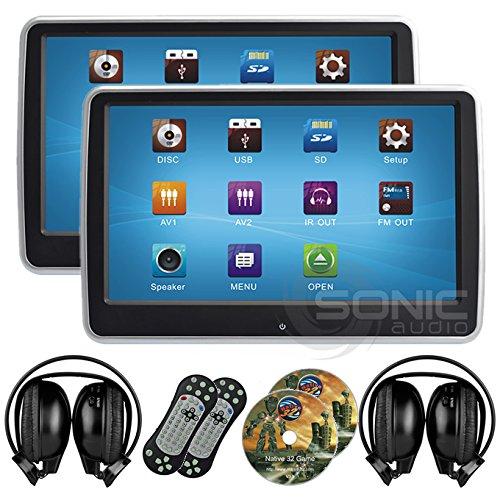 sonic 2 bildschirme 10 1 dvd player f rs auto auto lifestyle. Black Bedroom Furniture Sets. Home Design Ideas