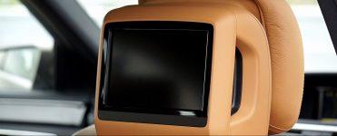 DVD Player Leder-Kopfstütze Auto