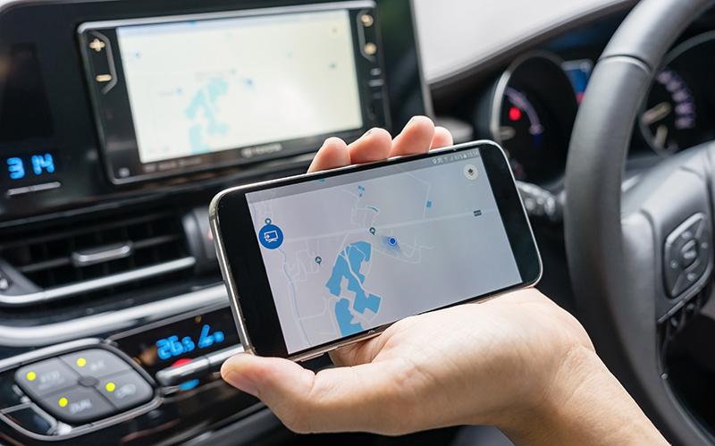GPS Auto Tracker Handy App