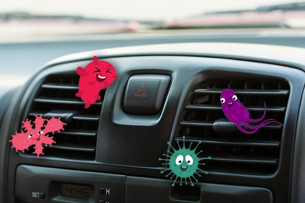 Gestank aus der Klimaanlage im Auto entfernen