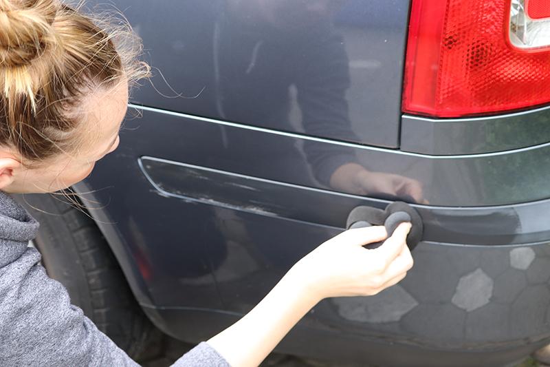 Kunststoffpflege Auto außen Test