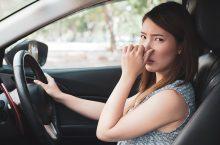 Unangenehme Gerüche im Auto entfernen