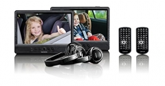 Lenco, 2 Bildschirme, 10″ DVD-Player fürs Auto