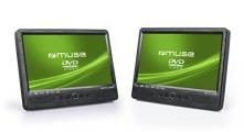 Muse M-1095, 2 Bildschirme, 10,1″ DVD-Player fürs Auto