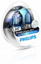 Philips BlueVision ultra Xenon-Effekt H7 Scheinwerferlampe